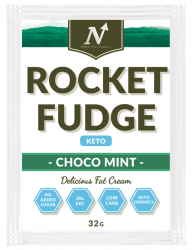 Rocket Fudge KETO, CHOCO MINT - Nyttoteket