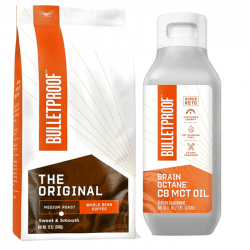 Bulletproof Coffee Brain octane kit (bönor)