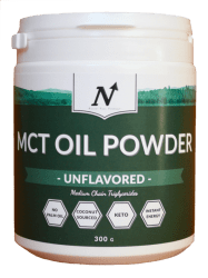MCT OIL POWDER, UNFLAVORED - Nyttoteket