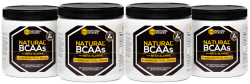 Natural BCAAs with Beta-Alanine 4-pack