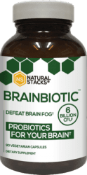 BrainBiotic Probiotics, 90 kapslar