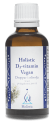 D3-vitamin vegan - Holistic