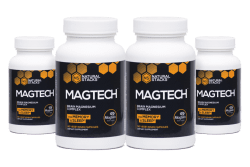 MagTech - optimalt magnesium 4-pack
