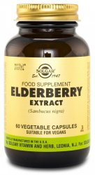 SFP Elderberry Berry Extract, 60 caps - Solgar