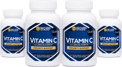 Vitamin C with Zink glycinate 4-pack
