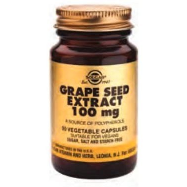 Grape Seed Extract 100 mg, 30 caps - Solgar