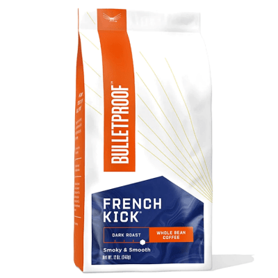 French kick dark roast bönor