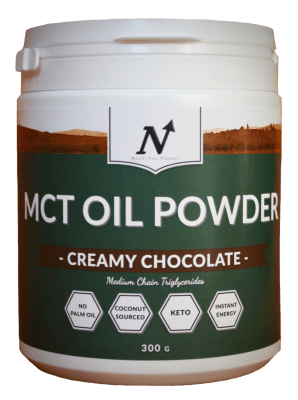 MCT OIL POWDER, CREAMY CHOCOLATE - Nyttoteket