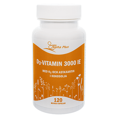 Alpha Plus D3 vitamin 3000 IE + K2
