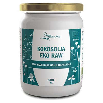 Alpha Plus Kokosolja Eko Raw