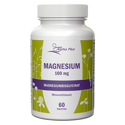 Alpha Plus Magnesium 100 mg