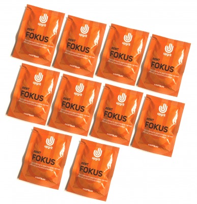 Rent Fokus (3 kapslar), 10 pack - Upgrit