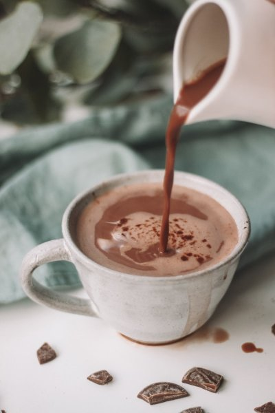 varm choklad proteinpulver